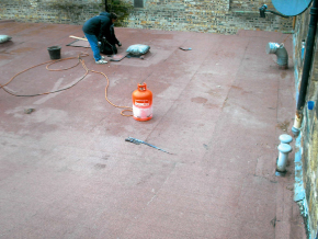 Replacement Flat Roof